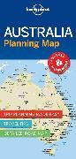 Cover-Bild zu Lonely Planet Australia Planning Map. 1:8'100'000 von Lonely Planet