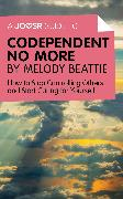 Cover-Bild zu A Joosr Guide to. Codependent No More by Melody Beattie (eBook) von Beattie, Melody
