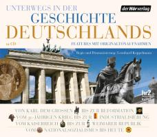 Cover-Bild zu Unterwegs in der Geschichte Deutschlands Folgen 1-12 von Horchler, Andreas