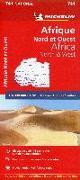 Cover-Bild zu Afrique Nord et Ouest - Nordwest-Afrika. 1:4'000'000