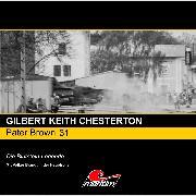 Cover-Bild zu Pater Brown, Folge 31: Die Blutstein-Legende (Audio Download) von Chesterton, Gilbert Keith