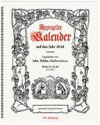 Cover-Bild zu Appenzeller Verlag: Appenzeller Kalender 2016