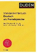 Cover-Bild zu Duden - Deutsch als Fremdsprache - Standardwörterbuch (eBook) von Dudenredaktion