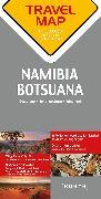 Cover-Bild zu Reisekarte Namibia / Botsuana / Südafrika. 1:1'500'000