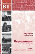 Cover-Bild zu Begegnungen B1. Glossar von Buscha, Anne
