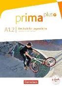 Cover-Bild zu Prima plus A1.2. Deutsch für Jugendliche. Schülerbuch von Jin, Friederike