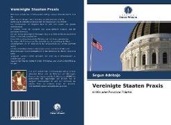 Cover-Bild zu Vereinigte Staaten Praxis von Adebajo, Segun