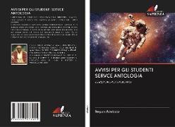 Cover-Bild zu AVVISI PER GLI STUDENTI SERVCE ANTOLOGIA von Adebajo, Segun
