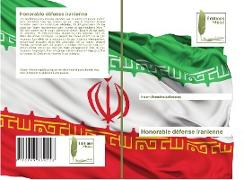 Cover-Bild zu Honorable défense iranienne von Ahmadinejadfarsangi, Naiem
