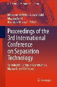 Cover-Bild zu Proceedings of the 3rd International Conference on Separation Technology (eBook) von Othman, Norasikin (Hrsg.)