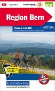 Region Bern, Nr. 09 Velokarte 1:60 000. 1:60'000 von Hallwag Kümmerly+Frey AG (Hrsg.)