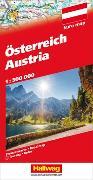 Österreich Strassenkarte. 1:500'000 von Hallwag Kümmerly+Frey AG (Hrsg.)