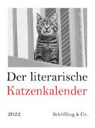 Der literarische Katzenkalender 2022 von Bachstein, Julia (Hrsg.)