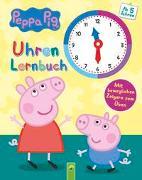 Cover-Bild zu Peppa Pig Uhrenlernbuch - Mit beweglichen Zeigern zum Üben von Schwager & Steinlein Verlag