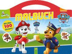 Cover-Bild zu PAW Patrol Malbuch von Schwager & Steinlein Verlag