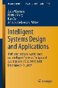 Cover-Bild zu Intelligent Systems Design and Applications (eBook) von Siarry, Patrick (Hrsg.)