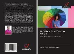 Cover-Bild zu PROGRAM DLA KOBIET W NIGERII von Adesanya-Davies, Funmilayo