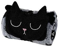 Ed, the Cat Kuscheldecke einrollbar