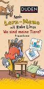 Cover-Bild zu Mein Lern-Memo mit Rabe Linus - Wo sind meine Tiere? von Raab, Dorothee