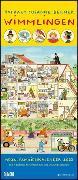 Wimmlingen 2022 - Mega-Familienkalender mit 7 Spalten - Mit 2 Stundenplänen und Ferientabelle - Hochformat 30,0 x 70,0 cm von Berner, Rotraut Susanne (Illustr.)