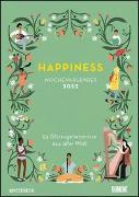 Happiness 2022 - Wochenkalender mit Illustrationen und Texten - Zum Aufhängen - DIN A4 - Spiralbindung von DUMONT Kalender (Hrsg.)