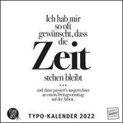 Sprüche im Quadrat 2022 - Typo-Kalender von FUNI SMART ART - Funny Quotes - Quadrat-Format 24 x 24 cm - 12 Monatsblätter mit typografisch von Funi Smart Art (Geschaffen)