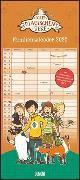 Schule der magischen Tiere Familienkalender 2022 - Wandkalender - Familienplaner mit 5 Spalten - Format 22 x 49,5 cm von Auer, Margit
