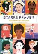 Starke Frauen Wochenkalender 2022 - Porträts und Biografisches auf 53 Wochenblättern - Format 21,0 x 29,7 cm - Spiralbindung von DUMONT Kalender (Hrsg.)