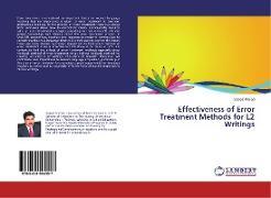 Cover-Bild zu Effectiveness of Error Treatment Methods for L2 Writings von Ahmad, Saeed
