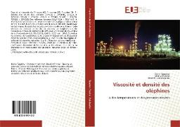 Cover-Bild zu Viscosité et densité des oléphines von Sagdeev, Damir