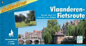 Vlaanderen-Fietsroute. 1:75'000