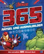 MARVEL Avengers 365 Rätsel und Ausmalbilder - Das extradicke MARVEL-Mitmach-Buch von Albrecht, Anke (Übers.)