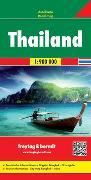 Thailand, Autokarte 1:900.000. 1:900'000 von Freytag-Berndt und Artaria KG (Hrsg.)