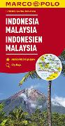 MARCO POLO Kontinentalkarte Indonesien, Malaysia 1:2 000 000. 1:2'000'000