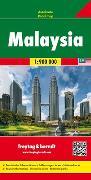 Malaysia, Autokarte 1:900.000. 1:900'000 von Freytag-Berndt und Artaria KG (Hrsg.)
