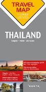 Reisekarte Thailand 1:1.500.000. 1:1'500'000