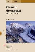 Zermatt, Gornergrat. 1:25'000