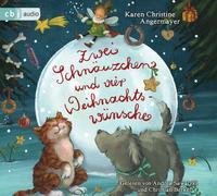 Zwei Schnäuzchen und vier Weihnachtswünsche von Angermayer, Karen Christine