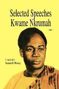 Cover-Bild zu Selected Speeches of Kwame Nkrumah. Volume 1 von Nkrumah, Kwame