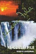 Cover-Bild zu Rhodesia File von Nkrumah, Kwame