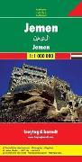 Jemen. 1:1'000'000 von Freytag-Berndt und Artaria KG (Hrsg.)