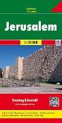Jerusalem, Stadtplan 1:10.000. 1:10'000 von Freytag-Berndt und Artaria KG (Hrsg.)