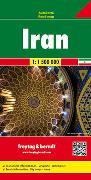 Iran, Autokarte 1:1.500.000. 1:1'500'000 von Freytag-Berndt und Artaria KG (Hrsg.)