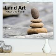 Cover-Bild zu Land Art - Natur und Kunst (Premium, hochwertiger DIN A2 Wandkalender 2022, Kunstdruck in Hochglanz) von Aigner, Matthias