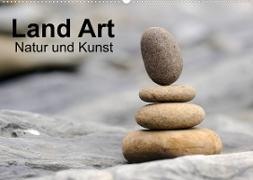 Cover-Bild zu Land Art - Natur und Kunst (Wandkalender 2022 DIN A2 quer) von Aigner, Matthias