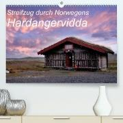 Cover-Bild zu Streifzug durch Norwegens Hardangervidda (Premium, hochwertiger DIN A2 Wandkalender 2022, Kunstdruck in Hochglanz) von Aigner, Matthias