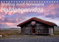 Cover-Bild zu Streifzug durch Norwegens Hardangervidda (Tischkalender 2022 DIN A5 quer) von Aigner, Matthias