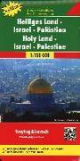 Cover-Bild zu Heiliges Land - Israel - Palästina, Autokarte 1:150.000, Top 10 Tips. 1:150'000