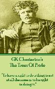 Cover-Bild zu Chesterton, G.K.: The Trees Of Pride (eBook)