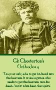 Cover-Bild zu Chesterton, G.K.: Orthodoxy (eBook)